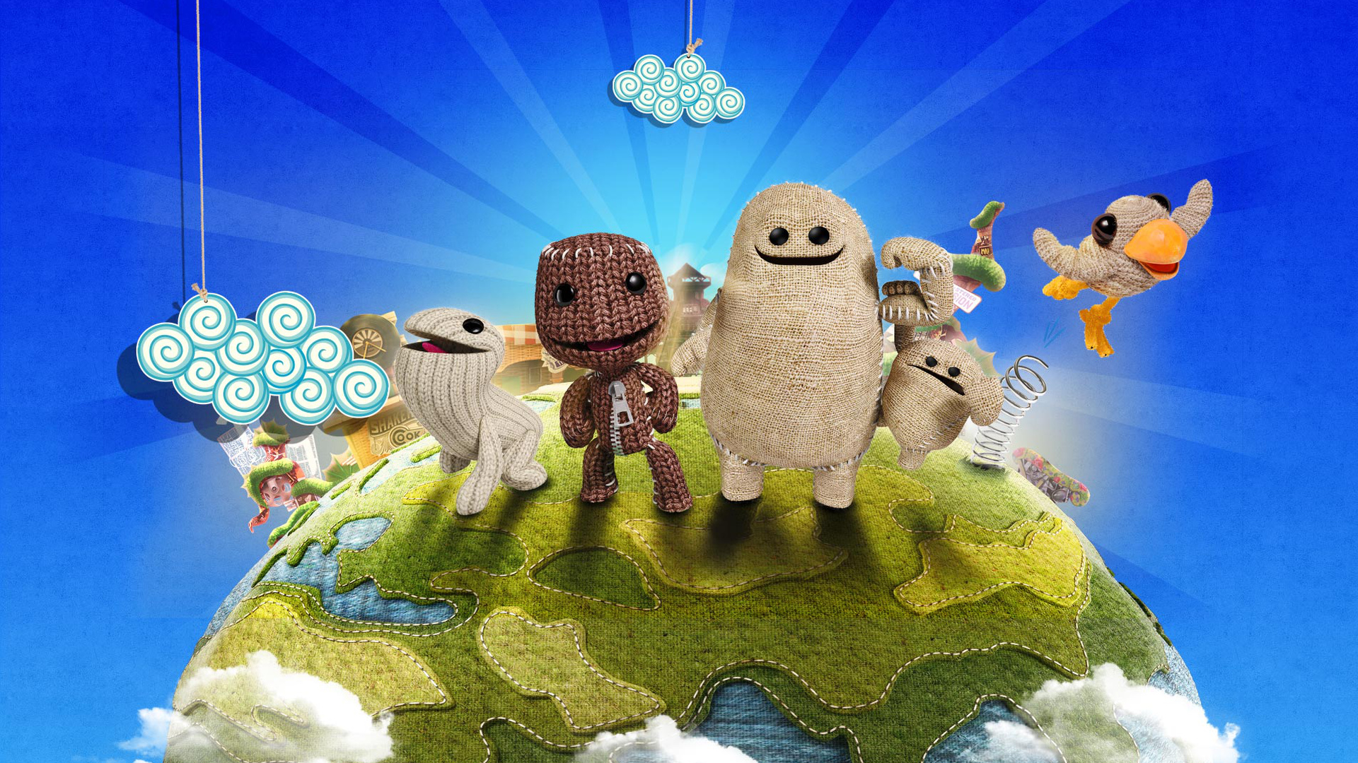 littlebigplanet 3 ps4 wallpapers ps4 home